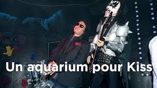 Un aquarium pour Kiss : Aquamen