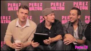 The Backstreet Boys Read Fan Fiction?! Is A Live Album On The Way?! Find Out HERE!   Perez Hilton