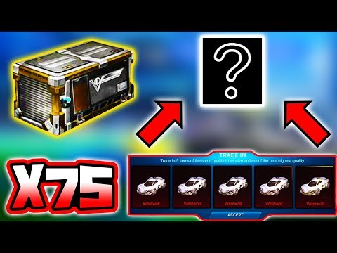 75 VICTORY CRATE ITEM TRADE UP!! ( Rocket League Update ) thumbnail