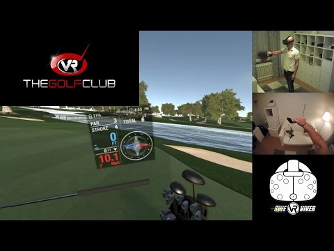 Play Golf in Virtual Reality! The Golf Club HTC Vive gameplay in VR and first impressions!