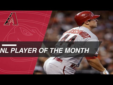 Paul Goldschmidt is named NL Player of the Month