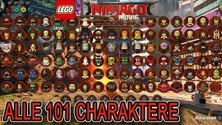 ALLE 101 NINJAGO CHARAKTERE - THE LEGO NINJAGO MOVIE VIDEOGAME GAMEPLAY DEUTSCH | EgoWhity thumbnail