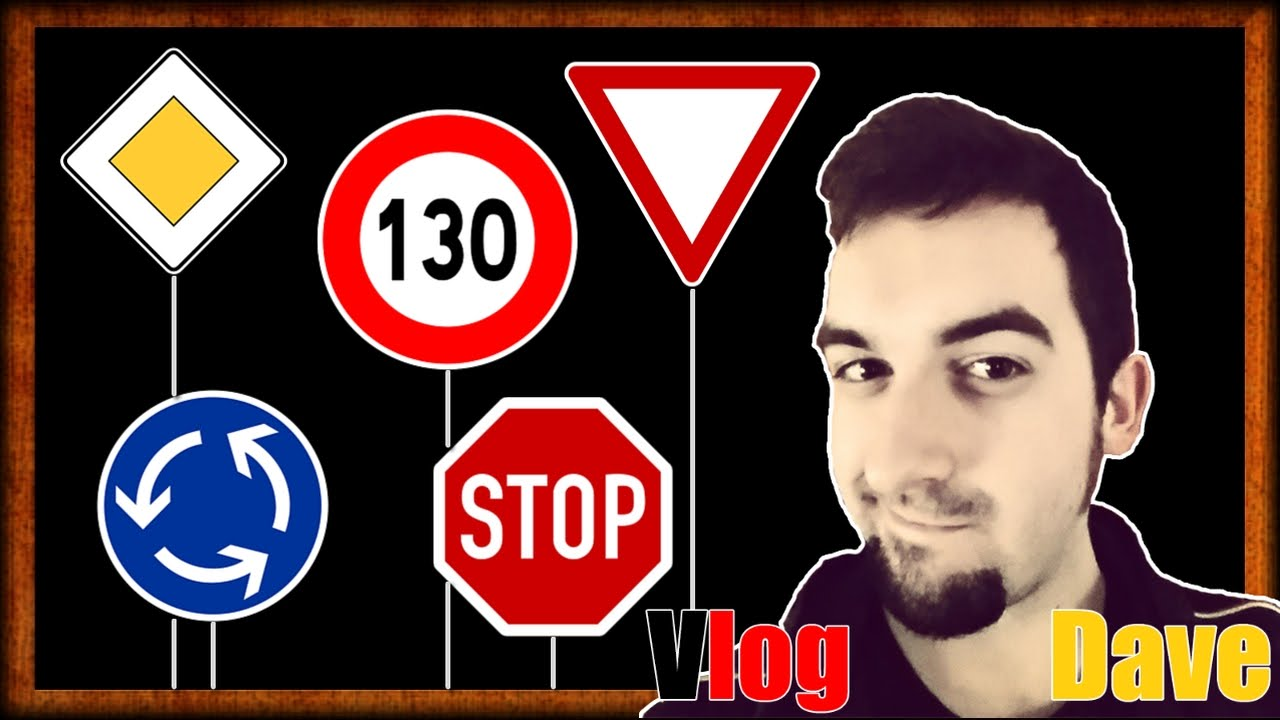 Driving in germany learn german road signs speed limits right driving in germany learn german road signs speed limits right of way stop more vlogdave youtube buycottarizona Image collections