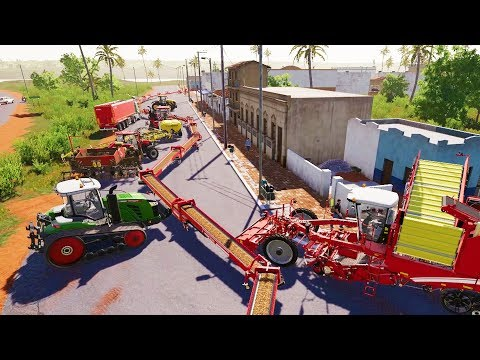 When You Spend $10,000,000 Farming Potatoes - Farming Simulator 19