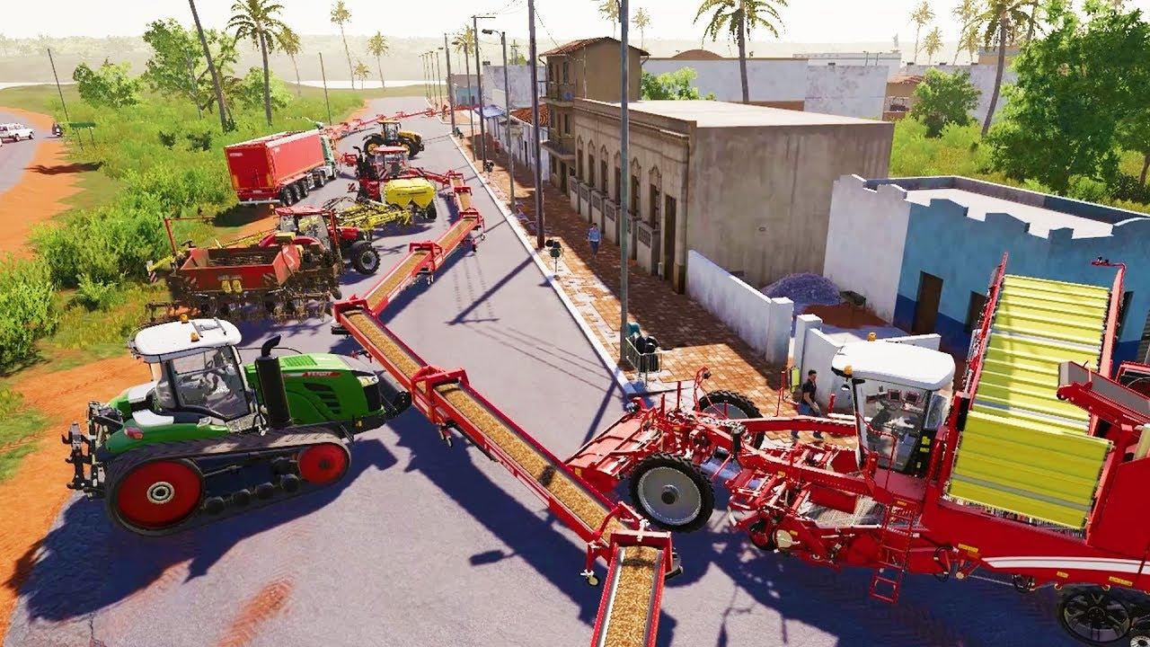 When You Spend $10,000,000 Farming Potatoes - Farming Simulator 19 by GrayStillPlays