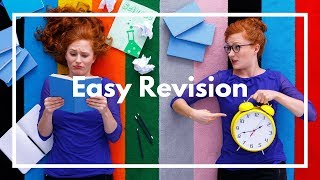 How to break your revision up into easy chunks.