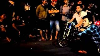 Merah Delima SMS AHON feat AmirCeria #54 (Frame by HARRY SPEED BUBUT RACING)