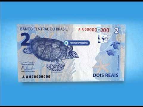 Cédulas de R$ 2 e de R$ 5 são lançadas  -