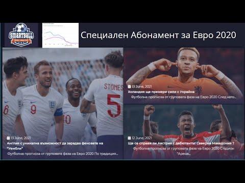 Специален Абонамент за всичките мачове от Евро 2020