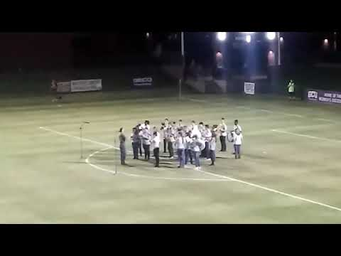 91st Psalm Christian School HAS Band plays National Anthem at GCU soccer 11/4/17