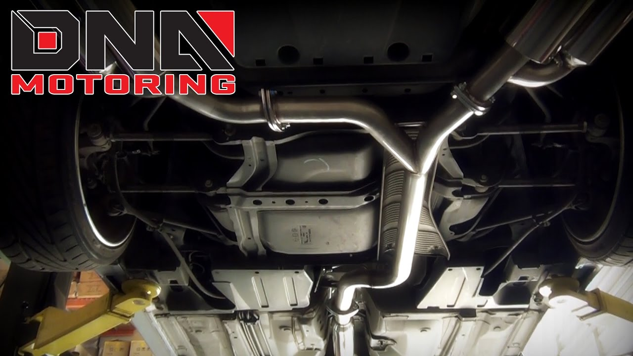 DNA Motoring Acura TSX Catback Exhaust Installation YouTube - Acura tsx exhaust