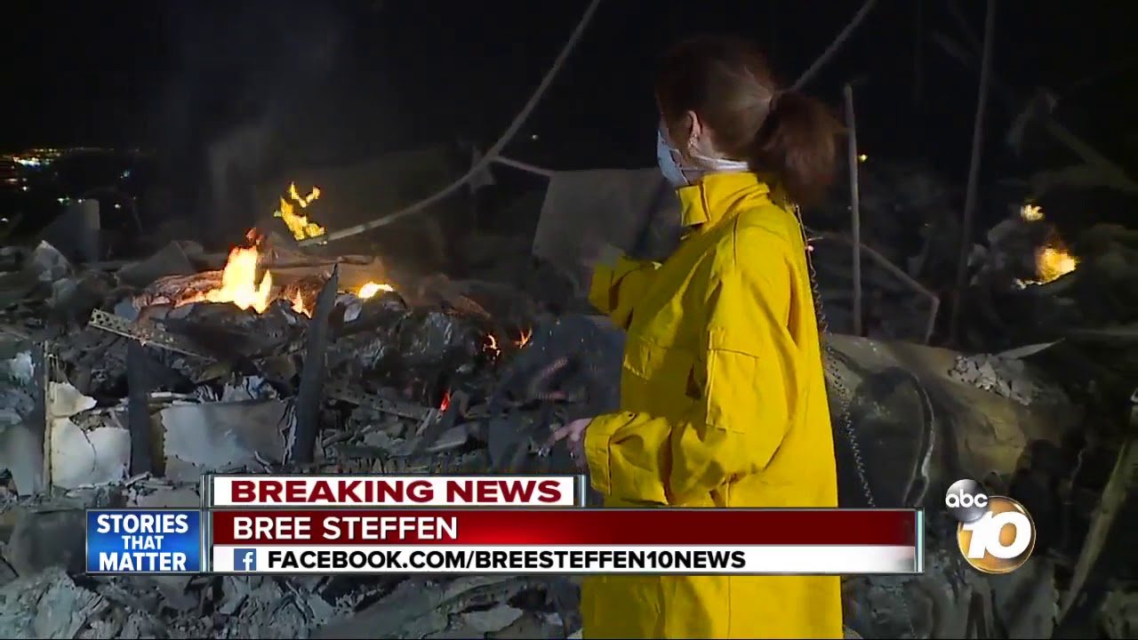Family desperately tries to save home from Thomas Fire