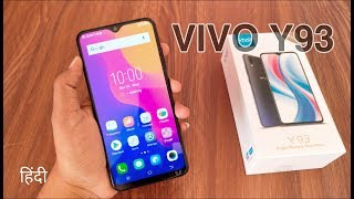 Vivo Y93 Unboxing amp Quick Review in Hindi