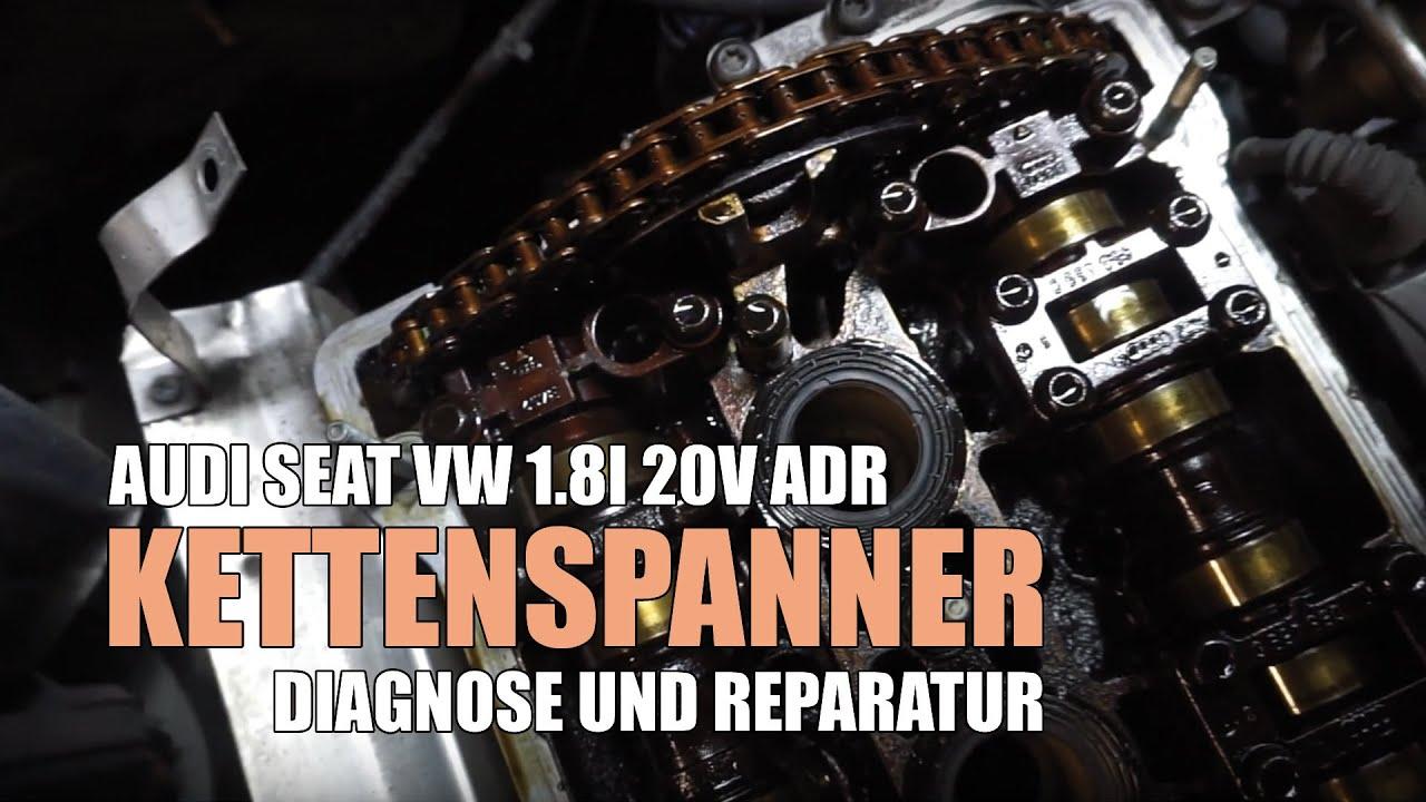Audi A4 B5 Kettenspanner Nockenwelle Wechsel Ersatz Am 1 8l 20v Adr Motor Audi A3 Vw Passat Golf