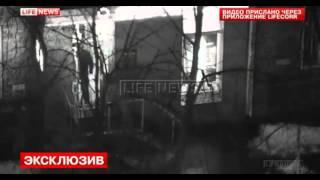 Ограбления банка в Москве попало на видео