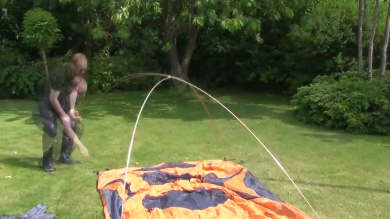025 | How to set up Marmot Limelight 3P tent - YouTube