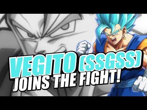 DRAGON BALL FighterZ - Vegito SSGSS Character Trailer | X1, PS4, PC