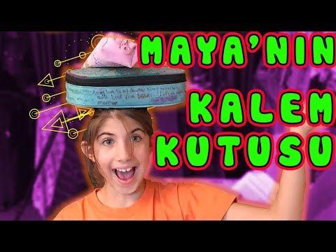 Maya 'nın Kalem Kutusunda Ne Var   Bizim Aile