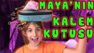 Maya 'nın Kalem Kutusunda Ne Var | Bizim Aile