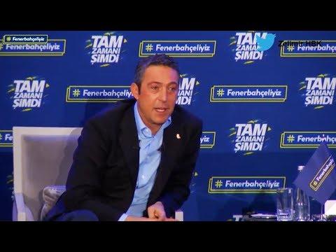 Ali Koç'un Mehmet Ali Aydınlar ve Acıbadem Sponsorluğu hakkındaki düşünceleri