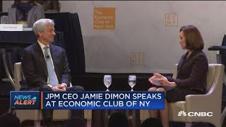 Watch JP Morgan CEO Jamie Dimon on the shutdown, Brexit and U.S.-China trade