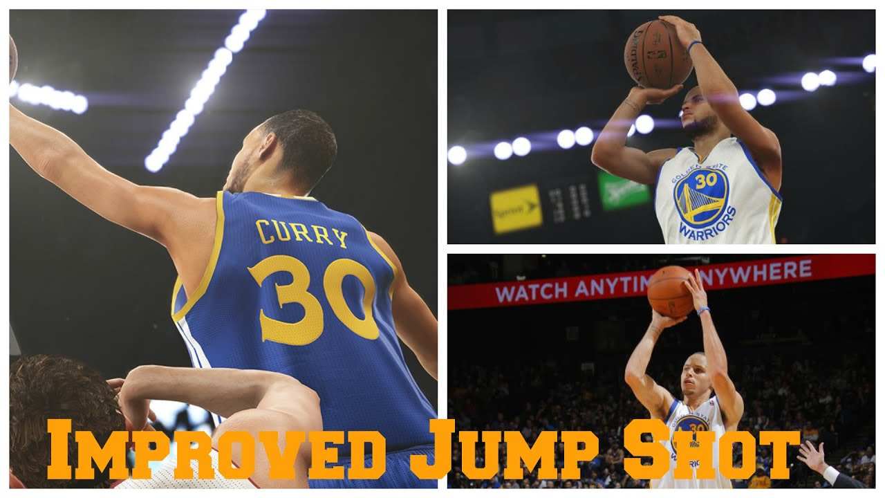 Nba 2k15 stephen curry improved jump shot better or worse youtube