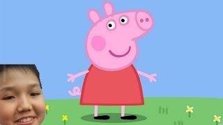 Свинка Пеппа и весёлый урок физ-ры