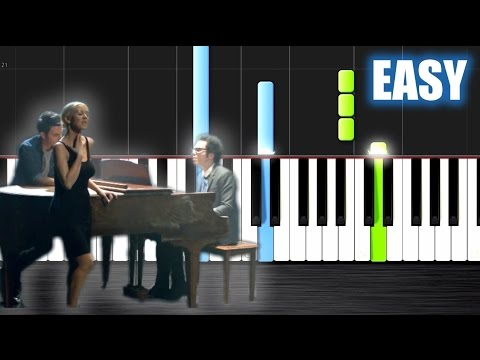 Piano say something piano chords easy : A Great Big World, Christina Aguilera - Say Something - EASY Piano ...