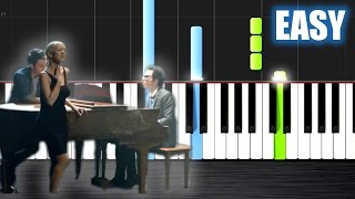 A Great Big World Christina Aguilera Say Something Easy Piano Tutorial By Plutax Synthesia