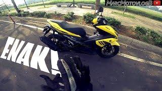 #117 Nyobain Yamaha Aerox 155 | Nagih Banget! | Motor Matic Idaman Coy