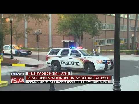 3 students shot on the campus of Florida State University in Tallahassee
