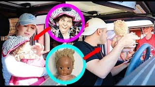 Taking Our HAUNTED Dolls Into Public *EMBARRASSING DARES* (ft. Hailey Reese)