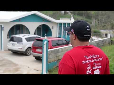 Maria Hurricane Relief; Barranquitas Recieves FEMA Food and Water