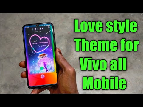 Love Style Theme For All Vivo Mobile