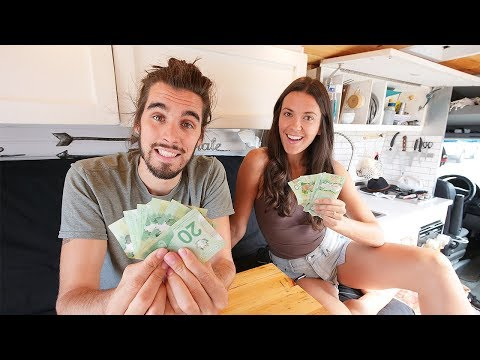 MONTHLY VAN LIFE EXPENSES   how much does living in a van cost?