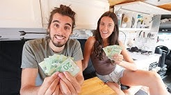 MONTHLY VAN LIFE EXPENSES | how much does living in a van cost?
