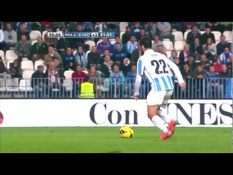La Liga | Gol de Isco (4-0) en el Málaga CF - Valencia CF | 24-11-2012 | J13
