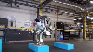 New incredible robot from Boston Dynamics - Atlas