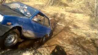 Subaru Justy offroad