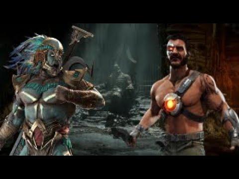 Mr Aquaman (Kotal) V Biohazard (Kano)