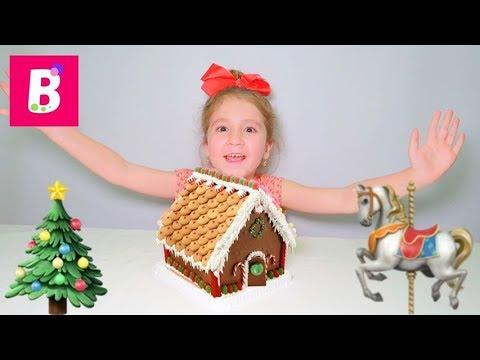 Casa din dulciuri   Ceva nou pentru mine 🎁  Bianca Kids Show