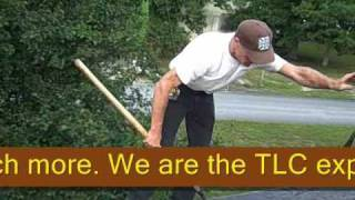 Roofing and Home Repair Video How To Repair a mobile home roof Shingle repair and a few other things