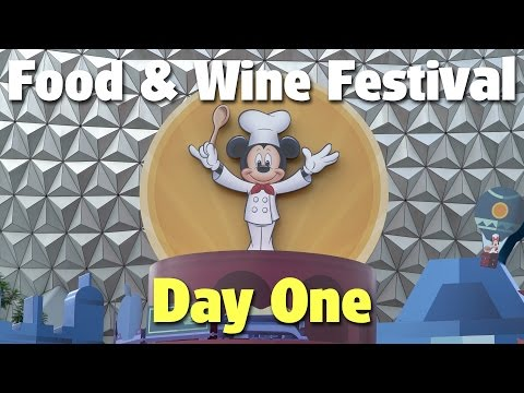 2016 Epcot International Food & Wine Festival: Day 1 | Epcot