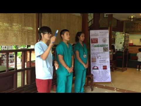 Action provides dental and eye at Hotel Heritage Angkor