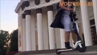 видео новенький электросамокат с доставкой в Тулу и скидкой✅