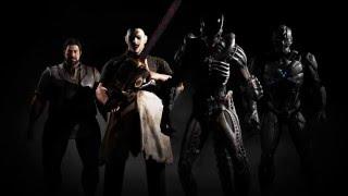 Чужой и Кожаное лицо [ В игре MORTAL KOMBAT X ] Трейлер (англ)