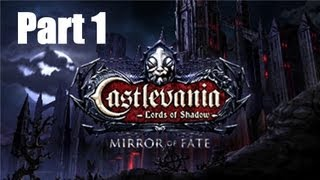 Lets Play Castlevania Lords Of Shadow Mirror Of Fate Nintendo 3DS Part 1 + Prologue
