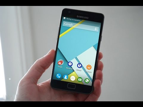 Android Lollipop on Samsung Galaxy S2-GT-i9100 - YouTube