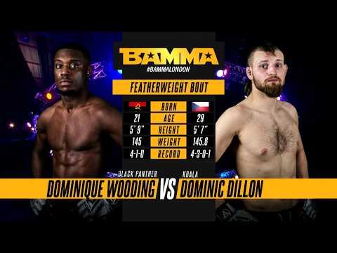 BAMMA 34: Dominique Wooding vs Dominic Dillon