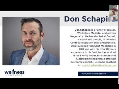 Wellness Innovate Managing The Mayhem: Don Schapira - May 6, 2020